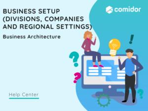 Business Setup featured   Comidor Platform