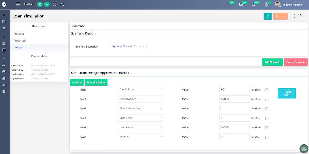 Workflow Simulator - Workflow Automation   Comidor