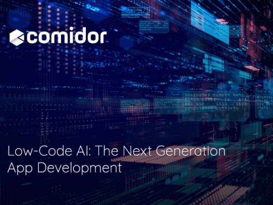Low-Code AI The Next Generation App Development | Comidor