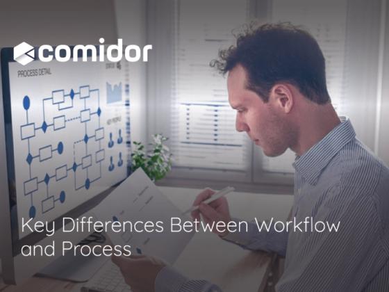 workflow vs process | Comidor