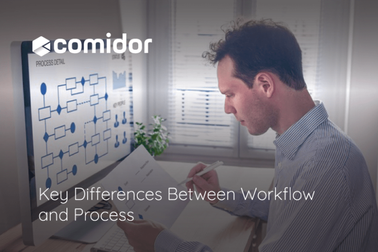workflow vs process   Comidor