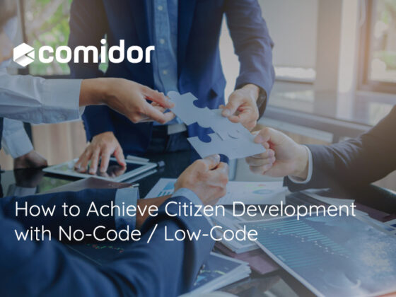 How to Achieve Citizen Development with No-Code / Low-Code | Comidor