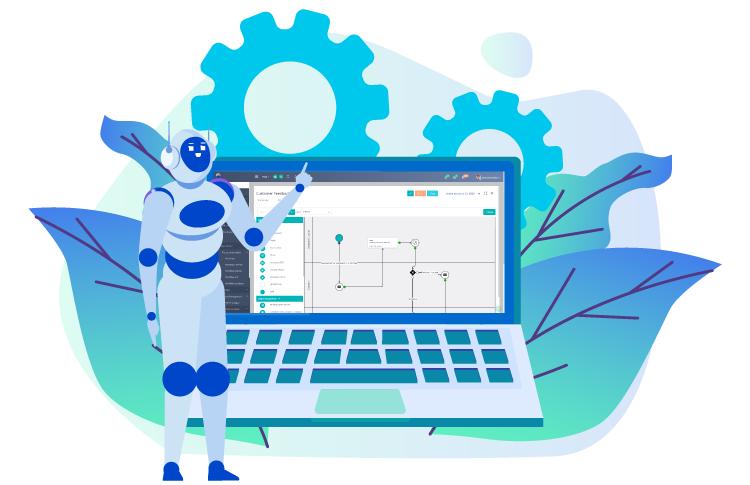 RPA in business processes   Comidor Platform